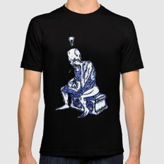 Sketchbook Variants Series: Writer's Block Mens Fitted Tee Black SMALL