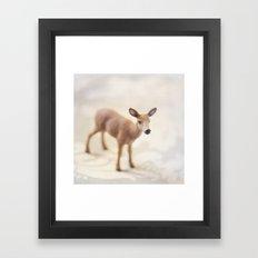 Doe Eyed  Framed Art Print