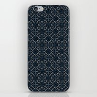 Turkish ceramics surface pattern iPhone & iPod Skin