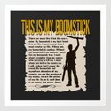 Evil Dead  |  Army of Darkness / Full Metal Jacket Mashup  | This Is My Boomstick Art Print