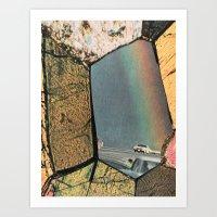 Hole In The Rainbow Art Print