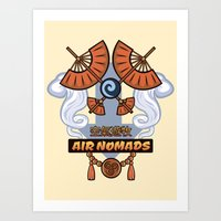 Avatar Nations Series - Air Nomads Art Print