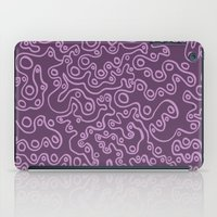 Wiggly Bubbles - Purple iPad Case