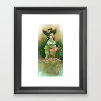Calamity And Hope Framed Art Print
