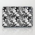 Flowers black & white serie 2 iPad Case