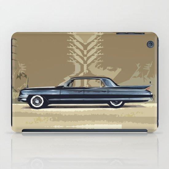 1961 Cadillac Fleetwood Sixty-Special ~ An Artist's Impression  iPad Case