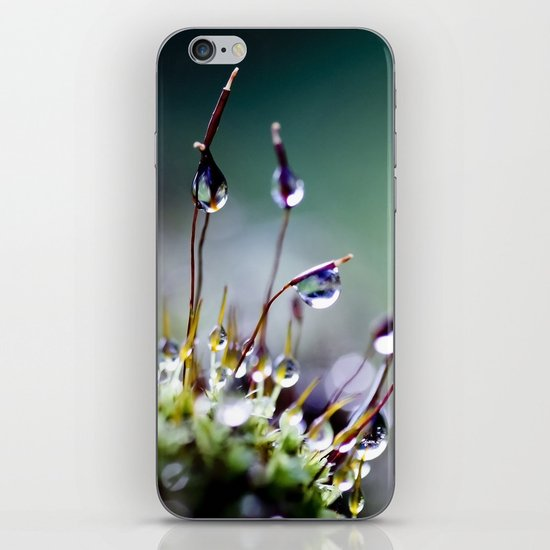 mossy things iPhone & iPod Skin