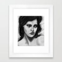 Lady Yesteryear Framed Art Print