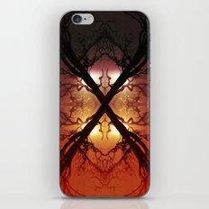 Quad Tree #1 iPhone & iPod Skin
