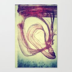 Gasping For Air Canvas Print