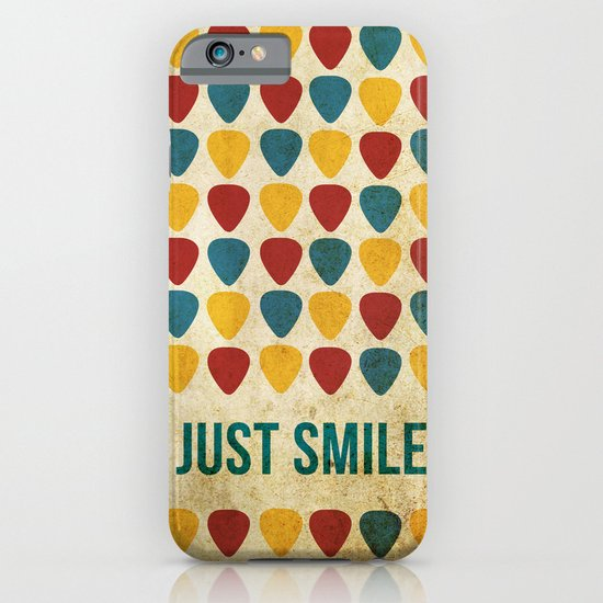 Just Smile. iPhone & iPod Case