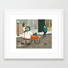 Michelle Kondrich vs. A Confederacy of Dunces Framed Art Print