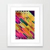 Ryys Abyyv Framed Art Print