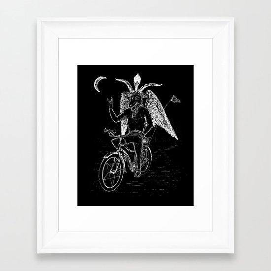 Hell Ride! Framed Art Print
