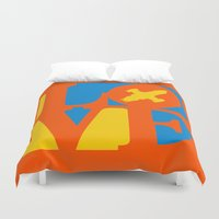 KEEPS HER IN THE AIR Duvet Cover