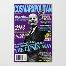 COSMARXPOLITAN, Issue 3 Canvas Print