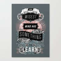 A Beautiful Mind Canvas Print