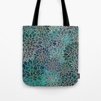 Floral Abstract 4 Tote Bag