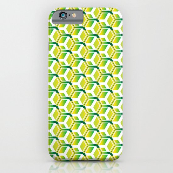pattern green iPhone & iPod Case