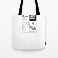Bats In Your Hair Tote Bag