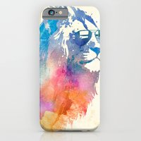 blue iPhone & iPod Cases featuring Sunny Leo   by Robert Farkas