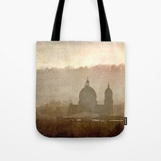 Cityscape - late afternoon Tote Bag