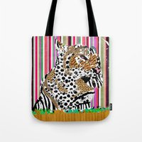 Tiger & His Technicolour… Tote Bag