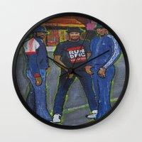 Who's House? Wall Clock