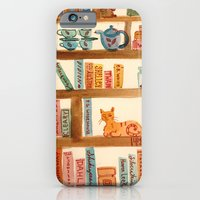 iPhone & iPod Case featuring Bookshelf by Lemon