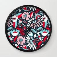Annabelle Flirt Wall Clock