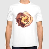 Reborn As A Ferret Mens Fitted Tee White SMALL