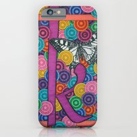 iPhone & iPod Case featuring butterfly K by Aimee Alexander
