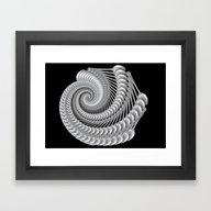 Armored Shell Framed Art Print
