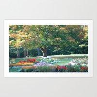 Kingsmere Gardens Art Print