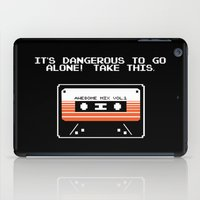 TAKE THIS TAPE (Zelda & Guardians of the galaxy Parody) iPad Case