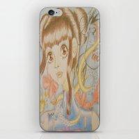 Winter Dragon iPhone & iPod Skin