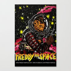 Freddy In Space Canvas Print