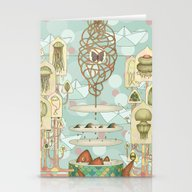 Floating Dreams1 Stationery Cards