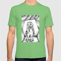 Haunted Clothing- The Co… Mens Fitted Tee Grass SMALL