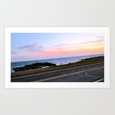 Newport, Rhode Island Sunset Art Print