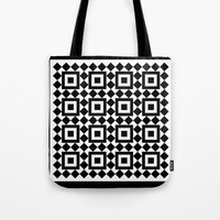 Victorian tile pattern #1 Tote Bag