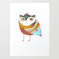 The Sweet Owl Art Print