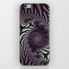 Purple and Gray iPhone & iPod Skin