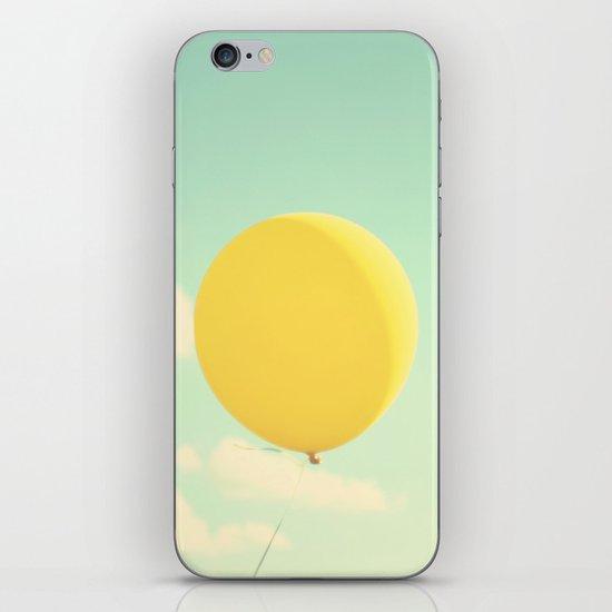 yellow balloon iPhone & iPod Skin