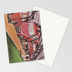 Conveying Cars Stationery Cards