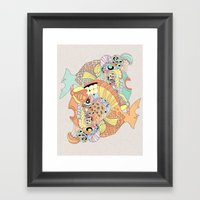 blowfish Framed Art Print