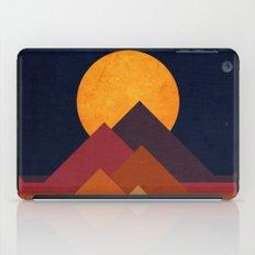 Full moon and pyramid iPad Case