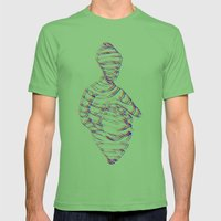 Sock Puppet (3D Variant) Mens Fitted Tee Grass SMALL
