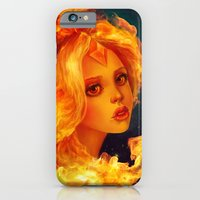 iPhone & iPod Case featuring Flame Princess   by Annike
