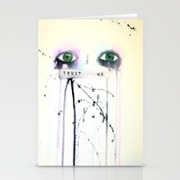 Trust Us Stationery Cards